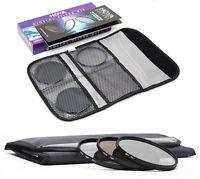HOYA 62mm Digital Filter Kit of HMC UV(C), CPL/Circular Polarising, ND8, & Pouch