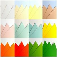 25 SHEET A3 170gsm CARD STOCK ASSORTED PACK CHOOSE FROM 12 COLOURS SCRAPBOOKING