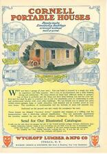 Wyckoff Lumber & Mfg. Co. - Cornell Portable Houses