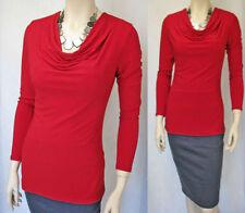 Career Long Sleeve Turtleneck Regular Tops & Blouses for Women