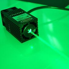 Industrial 532nm 200mW Green Laser Module with TEC Cooling and TTL Modulation