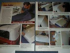 How to Tech Info Article on Covering a Lift-Off Custom Hardtop