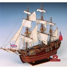 """New,  wooden model ship kit by Constructo: the """"HMS Endeavour England XVII"""""""