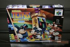 Magical Tetris Challenge (Nintendo 64 N64 1998) H-SEAM SEALED! - ULTRA RARE!