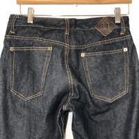 Goodale Mens Jeans Size 30 x 31 Slim Selvage Denim Dark Wash