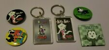 Felix The Cat Keychains Pins Magnet New Excellent Condition Rare