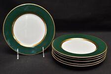 Fitz & Floyd Renaissance Green Set of 6 Salad Plates