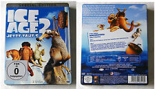 ICE AGE 2 / Jetzt taut´s .. Special Edition Steel Book 2-DVD-Box