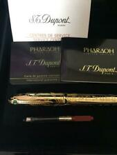 ST.Dupont Pharaoh Fountain pen Limited 2575 Collection Collectors item Very Rare