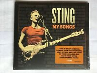Sting - My Songs police CD NEW & Sealed