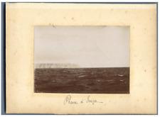 Algérie, Phare  Vintage print.  Tirage citrate  8x11  Circa 1900