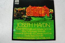 Haydn Konzert Cello 1 u. 4 Starck Nyffenegger Helmut Müller-Brühl schwann (LP13)