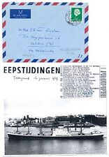 NEDERLAND-S.M.N. 1969 =M.S. NEDER EEMS = FROM HONG KONG   + DOC ...
