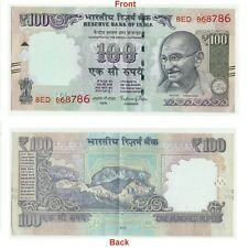 100 Rs. note lucky holy number 786 SIGNED Dr Raghuram Rajan Collectible G5-45 US