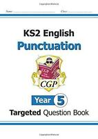 KS2 English Targeted Question Book: Punctuation - Year 5 by CGP Books, NEW Book,