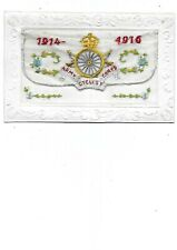 More details for army cyclist corps ww1 silk postcard 1914-16
