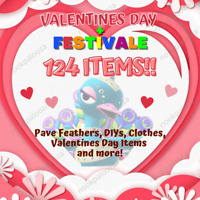 Valentines Day Love Set + January Festivale 1.7.0+ DIYs Animal Corssing Horizons