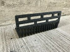 Antique Cast Iron Fireplace Grate - Black  (#3)