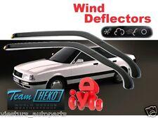 AUDI 80 B3 B4 1986 - 1995 Wind deflectors  2.pc  HEKO 10203 for FRONT DOORS