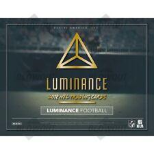 CLEVELAND BROWNS 2018 PANINI LUMINANCE FOOTBALL 4 BOX 1/3 CASE BREAK #1