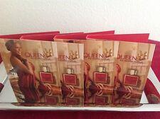 QUEEN by  Queen Latifah Perfume Samples x4 . NEW
