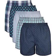 New! Gildan Mens Woven Boxer Underwear Multipack (5 Pack) size L (36/38)