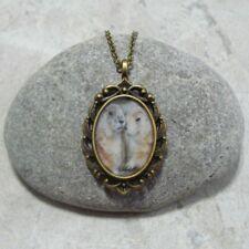 Groundhog Pendant Necklace Jewelry Antique Bronze