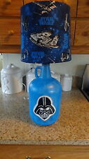 Decorative Table/Desk Lamp Star Wars (Hand-Painted Vader;Star Wars Theme Shade