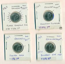 4* 1969 - 10 Cents Variety of Coins (OOAK)