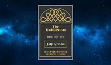 The Gold Room Ball Fridge Magnet. NEW. Inspired by The Shining. Overlook Hotel