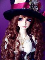 BJD 1/4 Doll Pretty Girl Female Human Body Free Eyes+ Face Make Up Resin Toy
