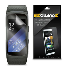 2X EZguardz Screen Protector Cover HD 2X For Samsung Gear Fit 2