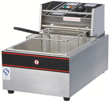 2020 Hot Sell 2.5KW Commercial Single Basket Electric Deep Fat Fryer 10L 10/7