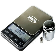 200 x 0.01g BP-D Precision Digital Pocket Scale with 200g 5g Calibration Weights