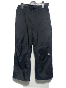 Womens Nike ACG Ski Snowboard Trousers Clima-Fit 3 Small Black Immaculate
