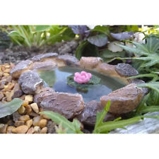 Miniature Dollhouse Fairy Garden - Lilypad Pond - Accessories
