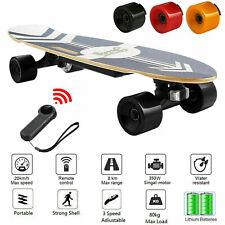 Elektroskateboard 700W/350W E-skateboard Longboard mit Funkfernbedienung 25MPH