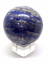 Crystal Ball LAPIS LAZULI Divination Scrying Omen 63mm 285g Sphere