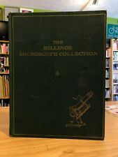 Billings Microscope Collection Book Vintage 1967 1st Ed Pathology Museum