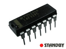 1000pcs 74F32 DIP14, 74F32PC NSC, Quad 2-Input OR Gate