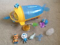 OCTONAUTS GUP-S POLAR VEHICLE WITH SOUNDS, LIGHTS, FIGURES AND ACCESSORIES