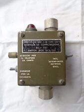 no ww2 switch  box  BC  1361  radio militare scatola commutazione