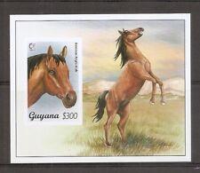 Guyana SC # 2949 American Anglo-Arab Horse . Souvenir  Sheet. MNH