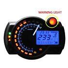 LCD Digital Motorcycle Speedometer Odometer Motor Bike Tachometer NEW