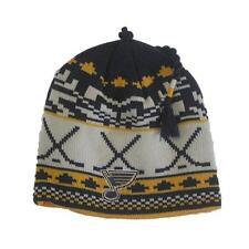 New NHL St Louis Blues Men's Reebok Winter Hat One Size Fits All