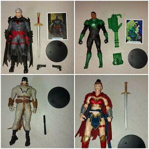 DC Multiverse McFarlane Lot Green Lantern Last Knight Batman Wonder Woman...