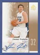 2011-12 SP AUTHENTIC JIMMER FREDETTE GOLD ROOKIE AUTO CARD 11/25 !!  SUNS !!