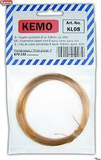 KEMO KL008 0,8mm Kupferlackdraht / Copper wire ca. 10 m