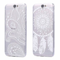 HTC One A9 CUSTODIA SLIM CASE TPU SILICONE COVER TRASPARENTE CLEAR DREAMCATCHER