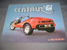 Rupp Centaur Motorcycle Brochure 1970 Mansfield Oh